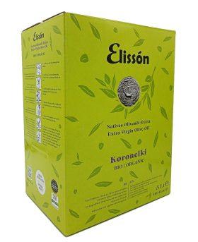 Elissón Koroneiki Olivenöl 5 Liter Bag-in-Box